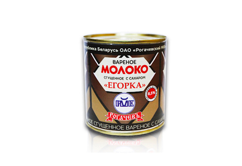 Вареное молоко сгущенное с сахаром Рогачевъ 8.5%, 360 г