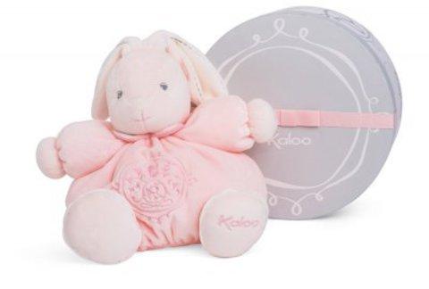 Kaloo. Мягкая игрушка Зайка розовый (средний размер)