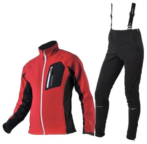 KEEP MOVING VICO разминочный лыжный костюм унисекс красный
