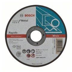 Отрезной круг Bosch Expert for Metal 125х1х22,23 мм прямой