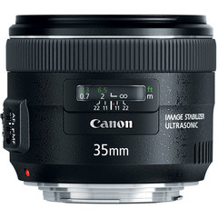 Объектив Canon EF 35mm f/2 IS USM Black для Canon