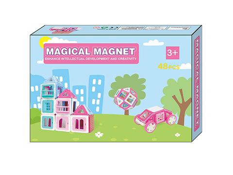 Магнитный конструктор MAGICAL MAGNET 48 дет