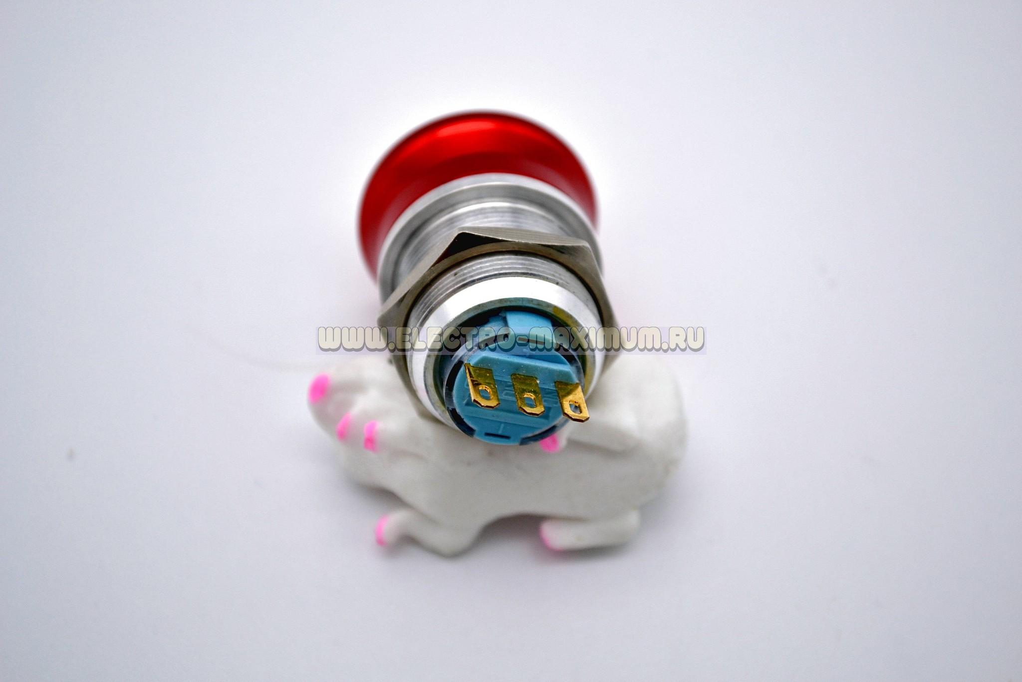 Аварийная кнопка металлическая IB22S-ES11/N
