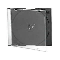 Бокс для CD/DVD дисков VS CD-box Slim/5 черный