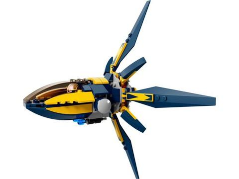 LEGO Super Heroes: Битва с использованием звёздных бластеров 76019