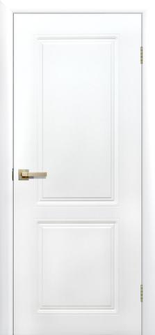 Дверь Сибирь Профиль Квартет ДГ, цвет белый, глухая