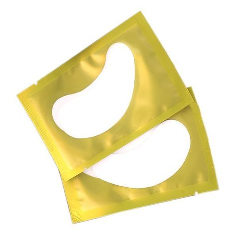 Гидрогелевые патчи для наращивания ресниц  (подкладки под глаза) с коллагеном, 1 пар./уп.