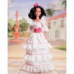 Коллекционная Кукла Барби Пуэрториканка (Puerto Rican) - Куклы Мира, Mattel