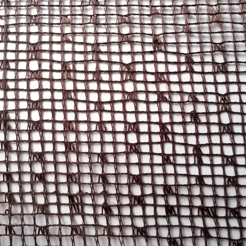 Ткань сетка - Венге. Арт. W2009 C19
