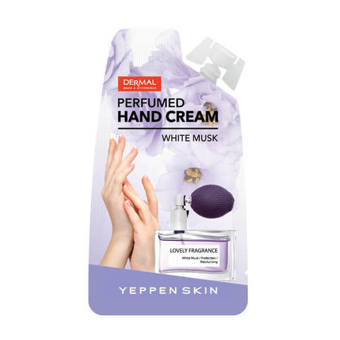 Yeppen Skin Увлажняющий парфюмированный крем для рук Hand Cream White Musk 20г