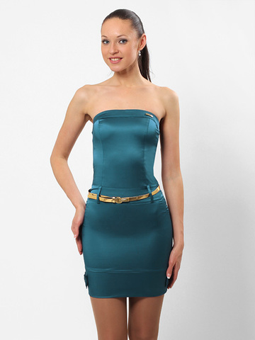 A1881-4 платье женское, синее