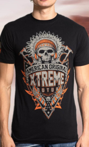 Футболка мужская Xtreme Couture TRIBAL CYCLES S/S TEE