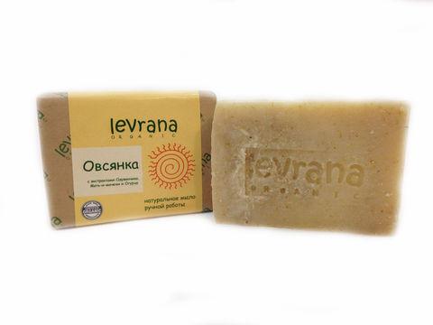 Levrana, Овсянка, натуральное мыло, 100гр