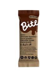 Батончик фруктово-ореховый, Bite, Настроение, Шоколад и фундук, 45 г.