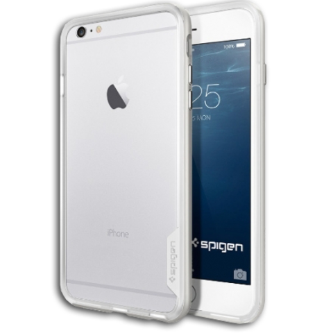 Spigen SGP Case Neo Hybrid EX for iPhone 6S Plus / 6 Plus Satin Silver SGP11059
