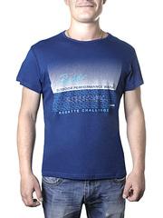 17614-5 футболка мужская, синяя
