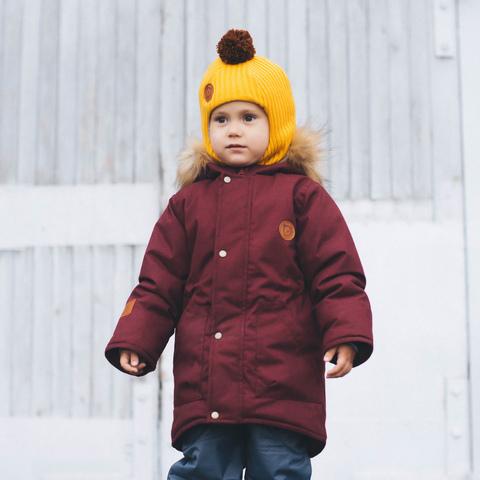 Шлем зимний вязаный меринос