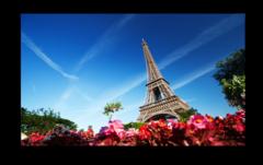 "Постер ""Башня в Париже"""