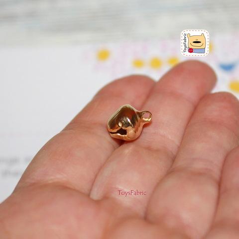 Бубенчик металлический золотой 10мм СБ11-10(З)