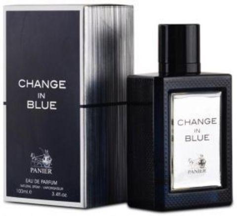 Panier Change in Blue