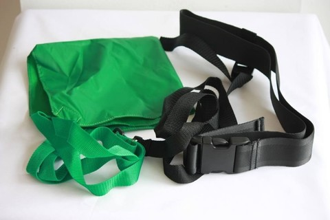 Пояс с тормозными коробочками DIAPOLO Swimming belt with chute 12