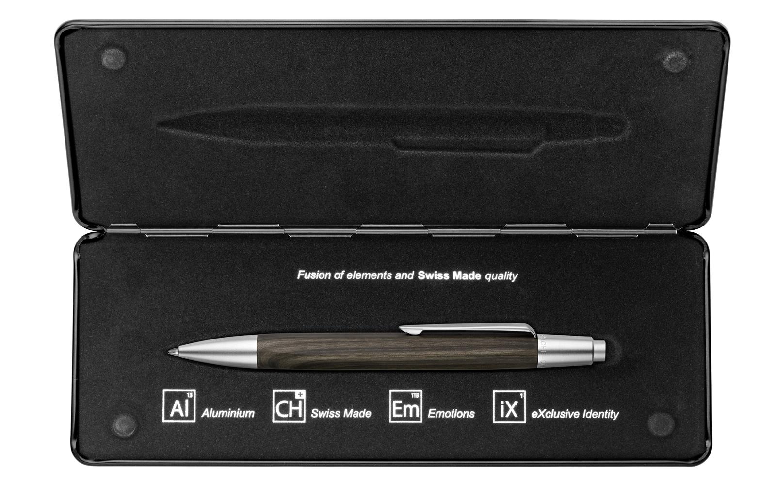 Carandache Office Alchemix - Wenge, шариковая ручка, M