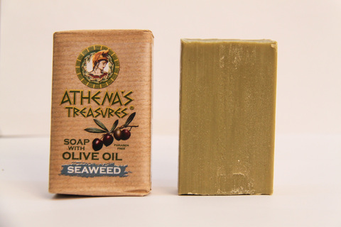 Мыло с оливковым маслом Морские водоросли ATHENAS TREASURES