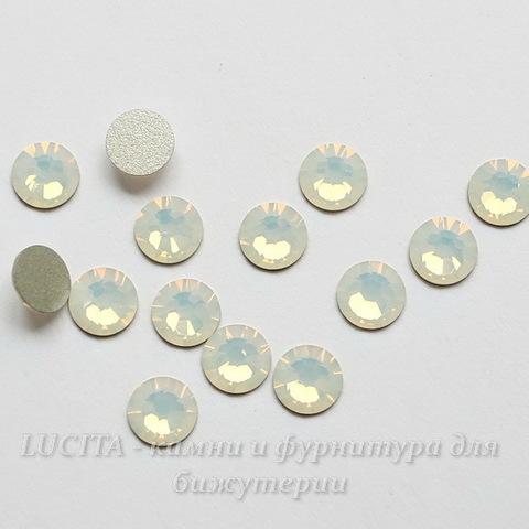 2058 Стразы Сваровски холодной фиксации White Opal ss30 (6,32-6,5 мм)