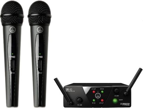 AKG WMS40 Mini2 Vocal Set BD US45A/C EU/US/UK вокальная радиосистема