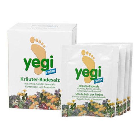 Соль для ножных ванн Релакс Йеги Yegi Dr.Wild, 8 пакетиков по 50 гр