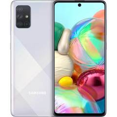 Мобильный телефон Samsung Galaxy A71 6/128GB (Серебристый)