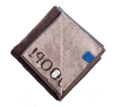 Полотенце 30х50 Cawo-JOOP! Classic Doubleface 1600 коричневое