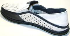 Мужская обувь на лето - кожаные туфли Luciano Bellini