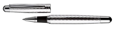 Ручка роллер OTTO HUTT с корпусом из серебра 925 пр