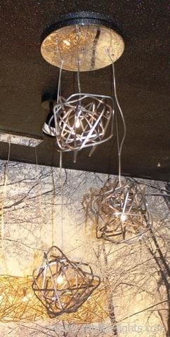 chandelier DOODLE CLUSTE by TERZAN replica