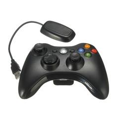 PC Беспроводной контроллер + ресивер (черный, оригинал)