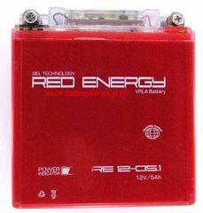 Аккумулятор 12V 5Ah (RE1205.1) RED ENERGY с индикатором заряда