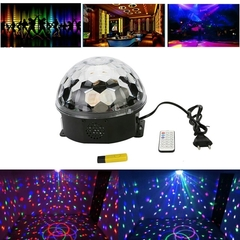 Светодиодный диско-шар LED Magic Ball с флешкой
