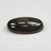 Кабошон овальный Агат Зеленый, 25х18х7 мм