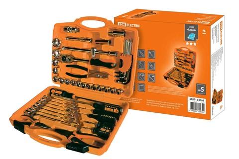 Набор инструментов универсальный №5, 48 позиций, CR-V сталь