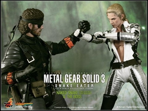 Metal Gear Solid 3 - Snake Eater The Boss