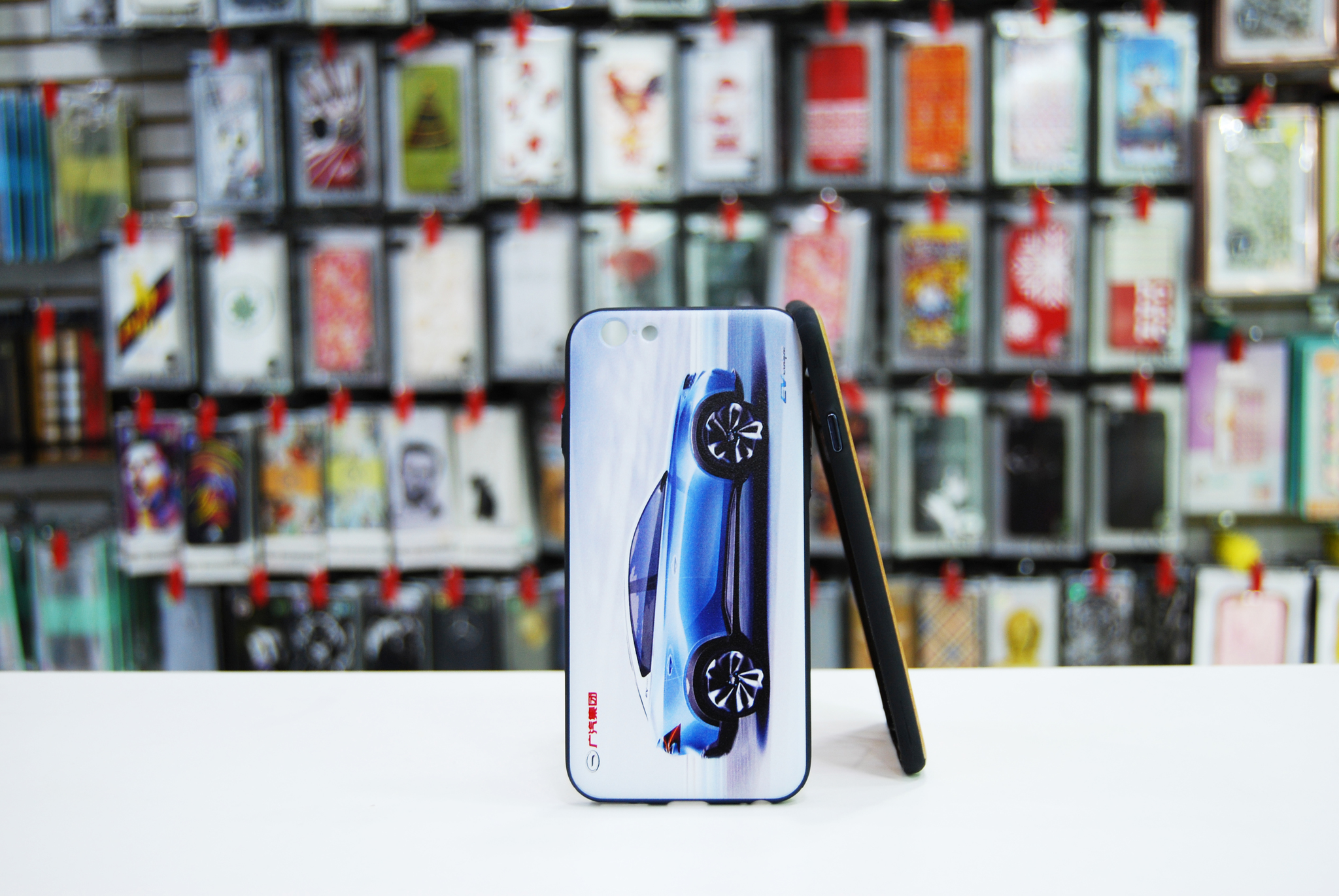 Чехол WK Design Blue Car для iPhone 7