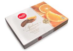 Апельсиновые дольки в шоколадной глазури, 190г