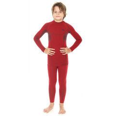 Комплект термобелья детский Brubeck Thermo для мальчиков красный