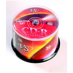 Носители информации VS CD-R 700MB 52x Cake/50