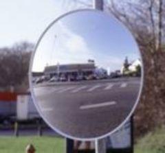 Выпуклое зеркало универсальное круглое