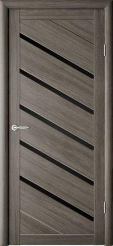 > Экошпон Фрегат ALBERO Сингапур-5 , стекло чёрный акрилат, цвет серый кедр, остекленная