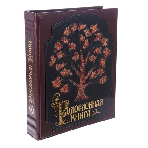 Родословная книга Роспись