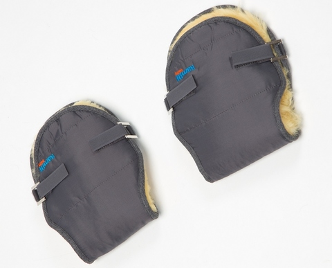 Меховые рукавички Ramili Baby Mite