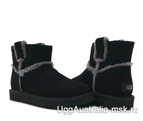 UGG Classic Mini Top Wool Black